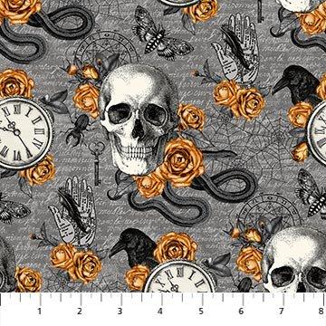 Wicked - Gray multi motifs
