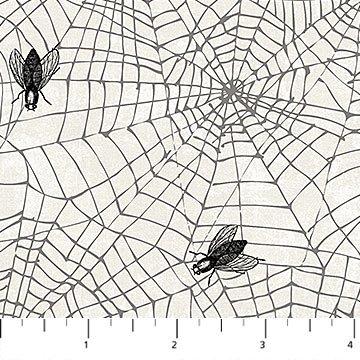 Wicked -Flies in Spider Web - white