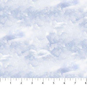 Snowy Owl - snow sky