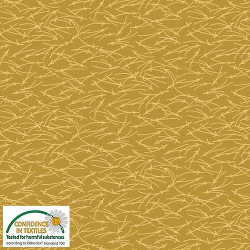 Stof Quilters Combo - Dk Gold branches