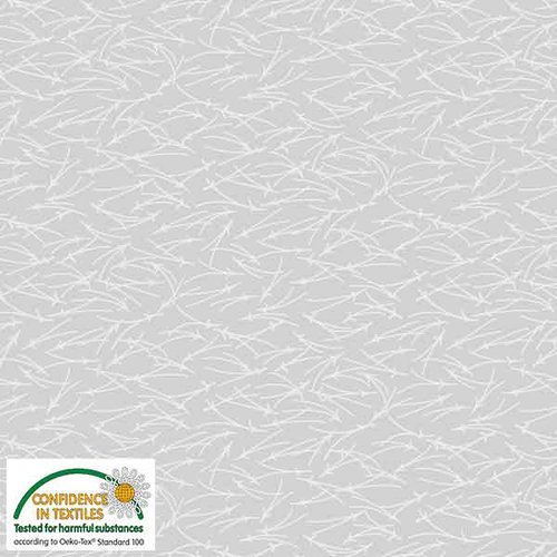 Stof Quilters Combo - gray branches