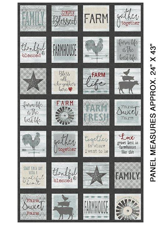 Farm Sweet Farm - 30 panel