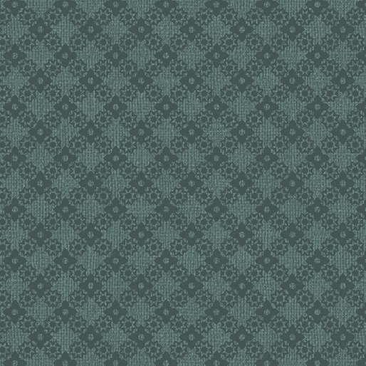 Farm Sweet Farm - Diamond lattice Teal