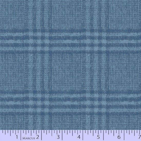 Primo Plaid, Blue Flannel