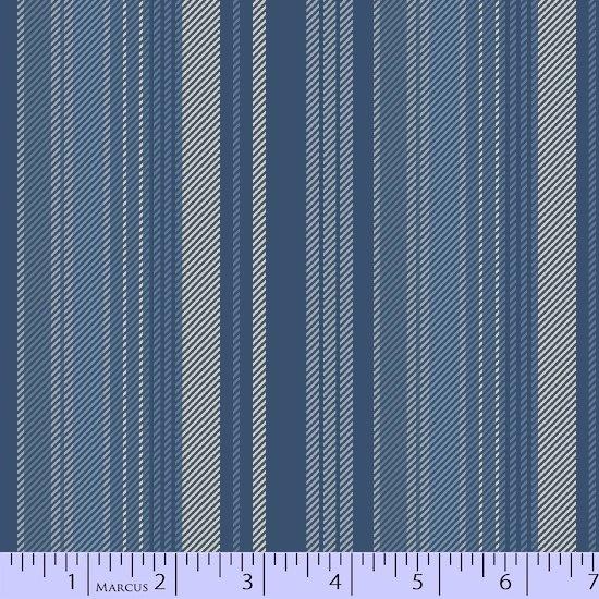 Primo Plaid, Blue Flannel, Stripe