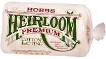 HOBBS Heirloom PremiumCotton Batting - QUEEN