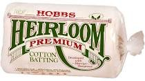 HOBBS Heirloom Premium Cotton Batting - CRIB
