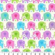 Sweet Baby Elephant - Flannel