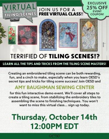 Virtual Event OESD Tile Scene