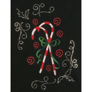 CANDY CANE BOUQUET CRYSTAL COMBO