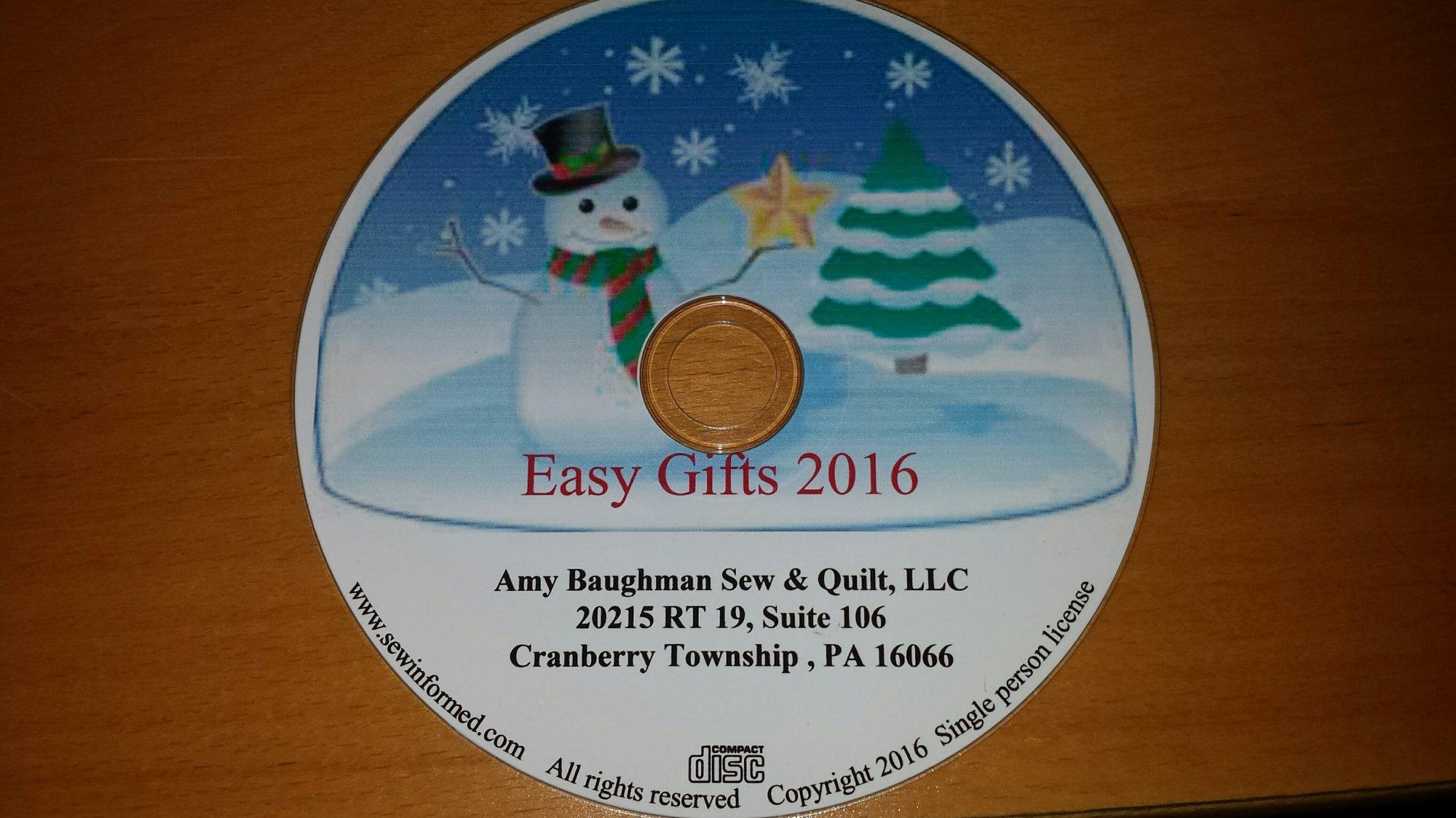 EASY GIFT 2016 CD