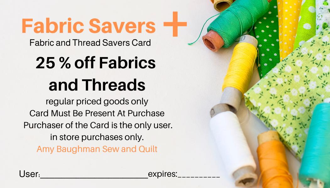 Fabric Saver Plus