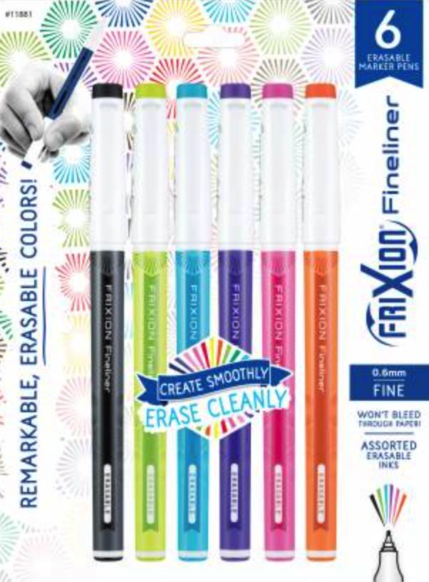 Frixion Fine Marker