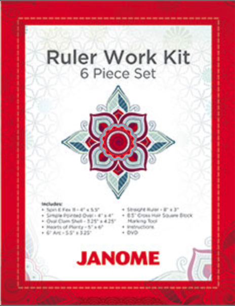 RULER WORK KIT BY JANOME