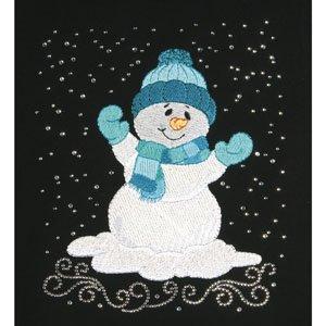 SNOWMAN CRYSTAL COMBO