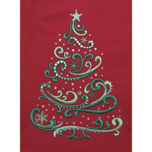 SWIRLY CHRISTMAS TREE CRYSTAL COMBO