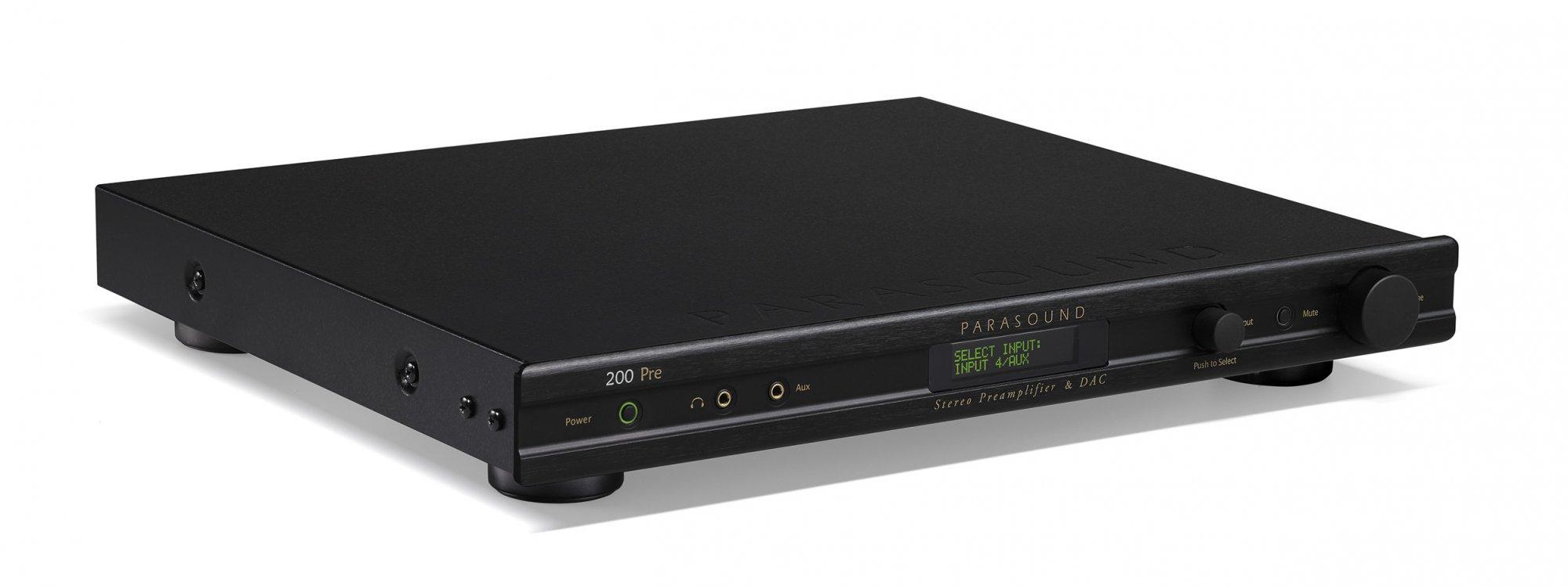 Parasound NewClassic 200 Pre  Stereo Preamplifier & DAC