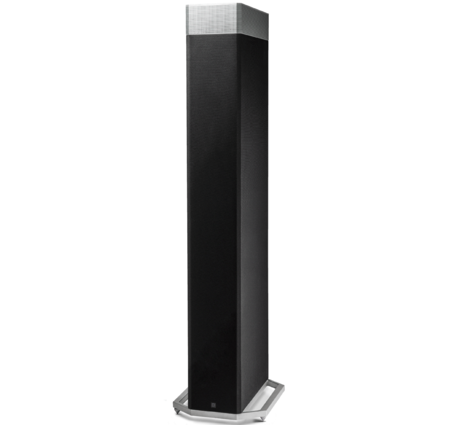 DEF TECH BP9080x High-Performance Tower Speaker with Integrated 12 Powered Subwoofer and Height Module