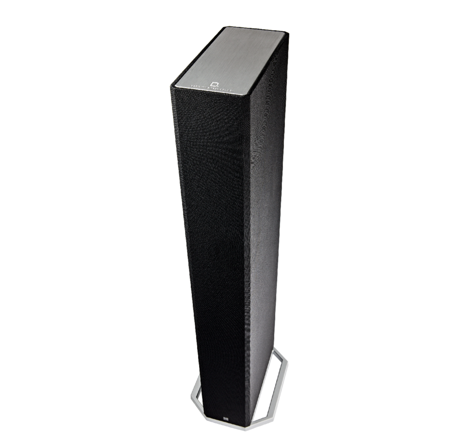 DEF TECH BP9060 High-performance Bipolar Tower Speaker with Integrated 10 Powered Subwoofer