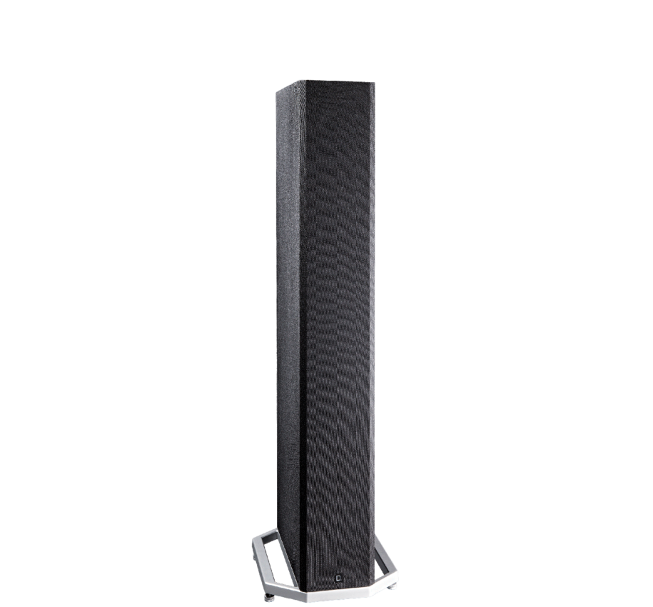DEF TECH BP9040 High-Performance Tower Speaker w/ Integrated 8 inch Powered Subwoofer