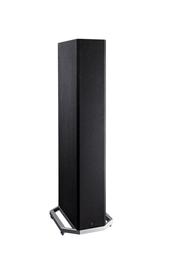 DEF TECH BP9020 High-Performance Tower Speaker w/ Integrated 8 inch Powered Subwoofer