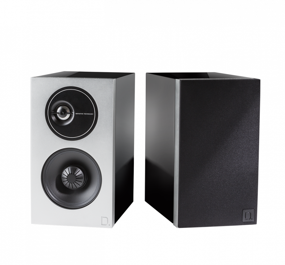 Def Tech Demand Series D7 High-Performance Bookshelf Speakers