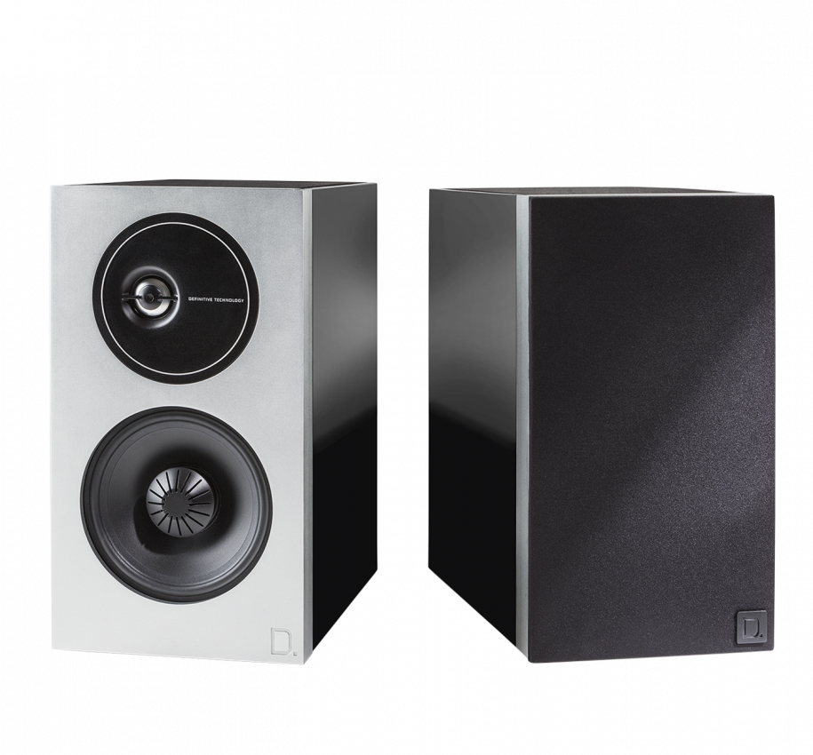 Def Tech Demand Series D9 High-Performance Bookshelf Speakers
