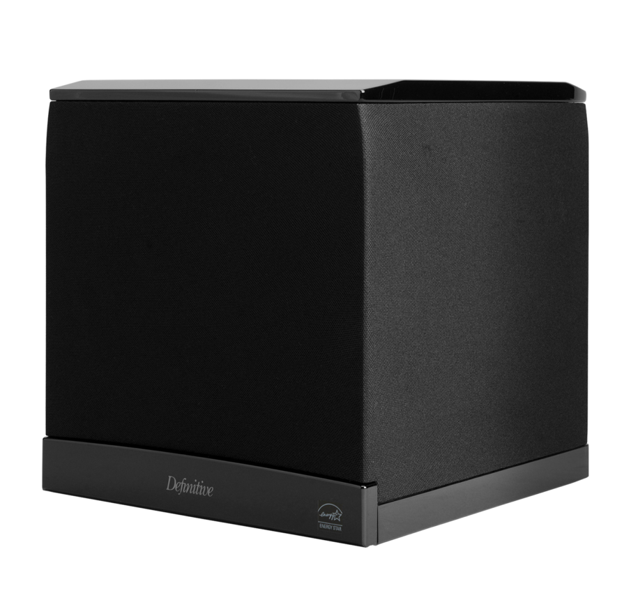 Def Tech SuperCube 6000 High Performance 1500W Powered Subwoofer With 9 Woofer and Dual 10 Bass Radiators