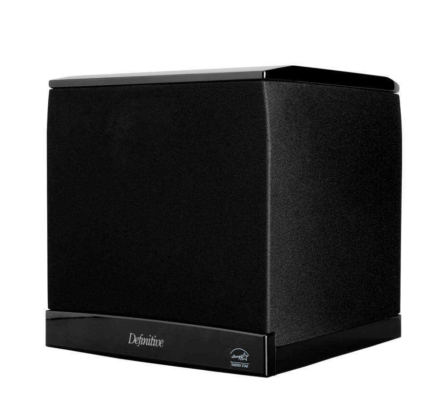 Def Tech SuperCube 4000 High Performance 1200W Powered Subwoofer With 8 Woofer and Dual 8 Bass Radiators