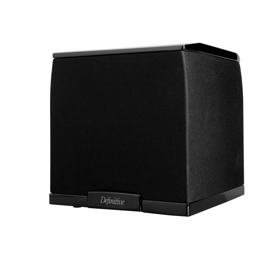 Def Tech SuperCube 2000 Ultra-Compact High Performance 650W Powered Subwoofer With 7.5 Woofer and Dual 7.5 Bass Radiators