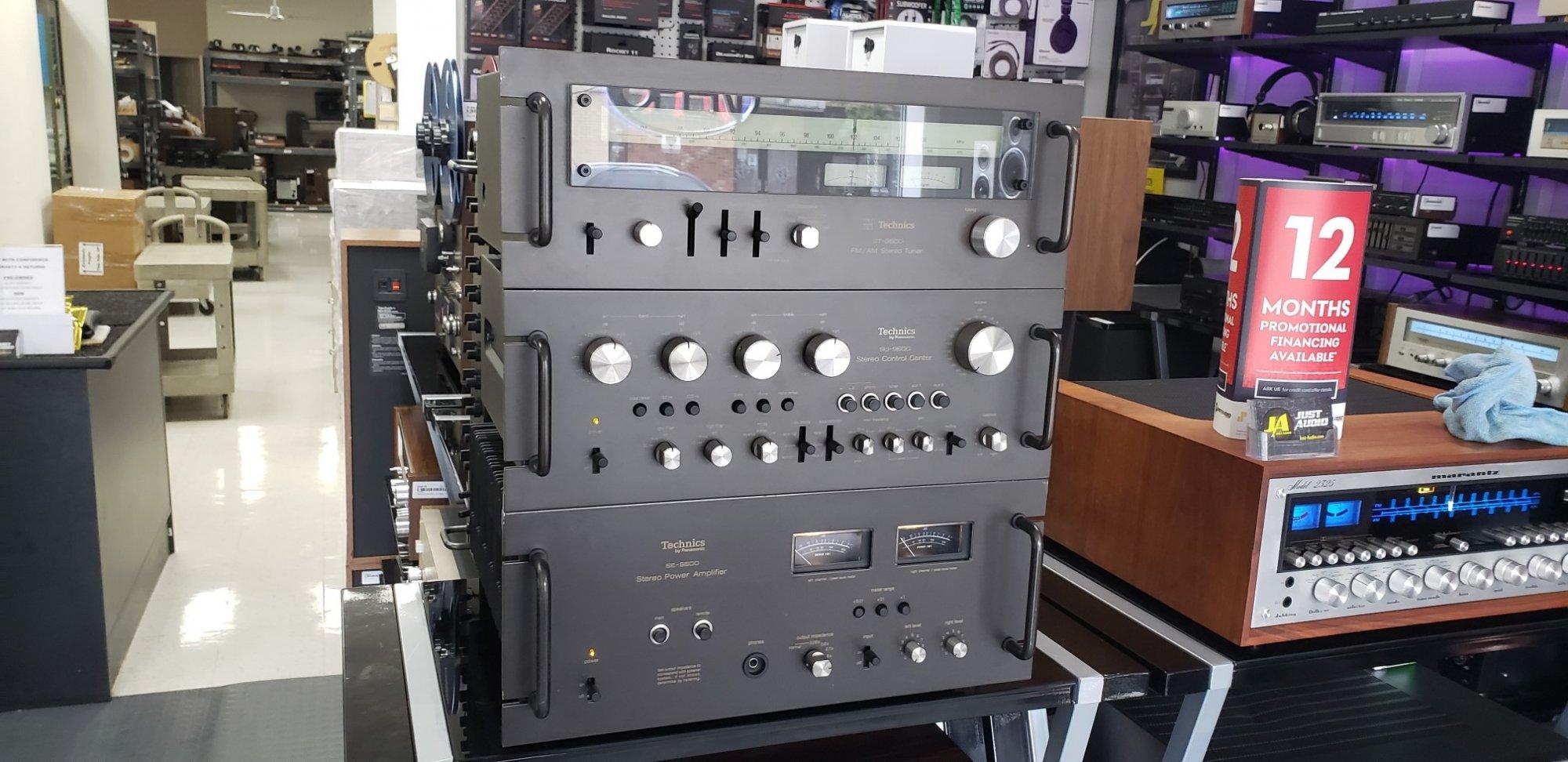 Technics 9600 SET (110W/Ch) ( SE-9600, SU-9600 , ST-9600 )