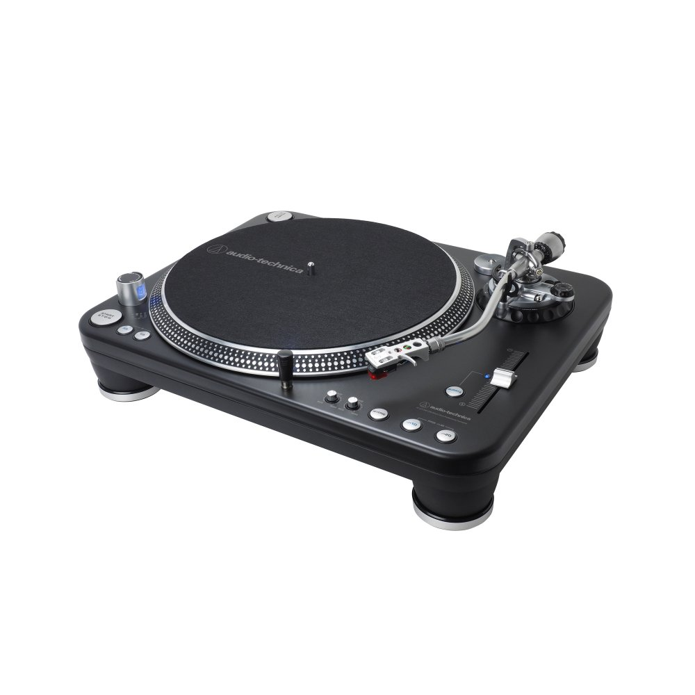 AT-LP1240-USBXP Direct-Drive Professional DJ Turntable (USB & Analog)