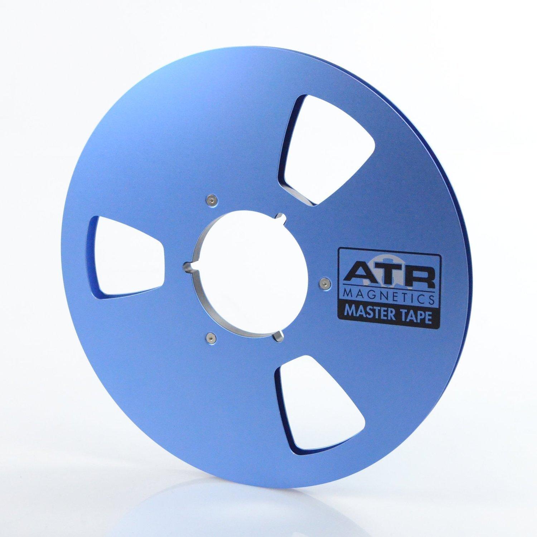 ATR Master Tape 1/4 Empty 10.5 NAB Metal Reel Cardboard Box