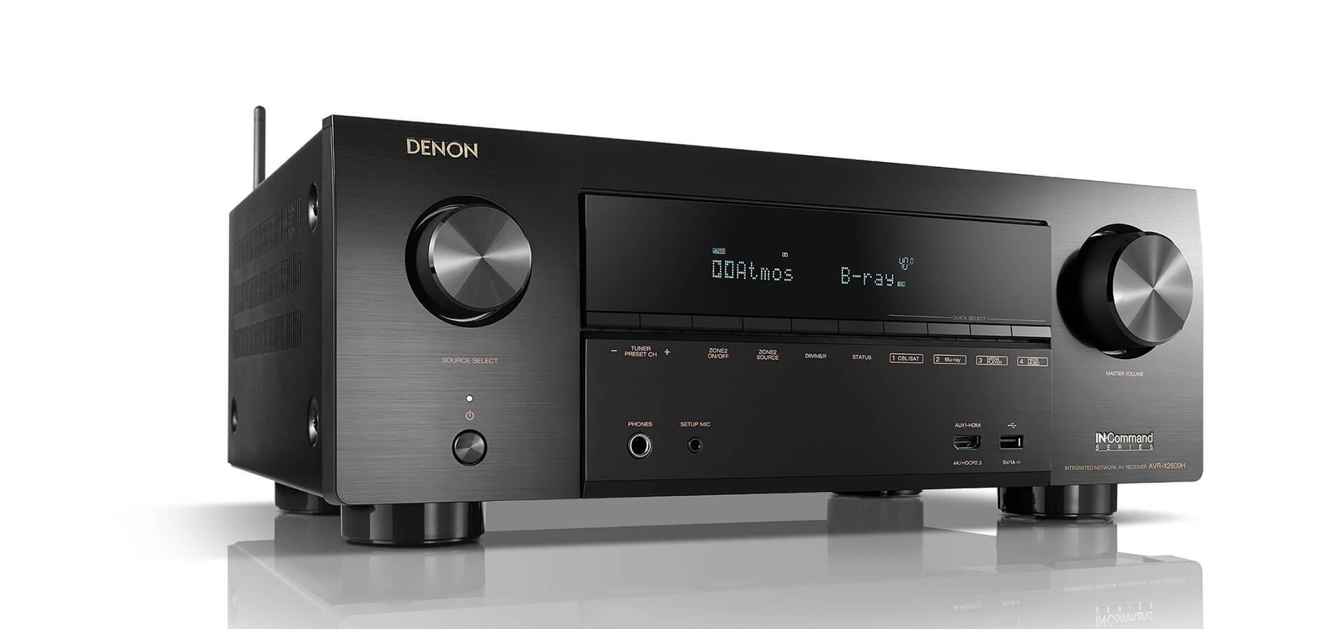 Denon AVR-X2600H Receiver