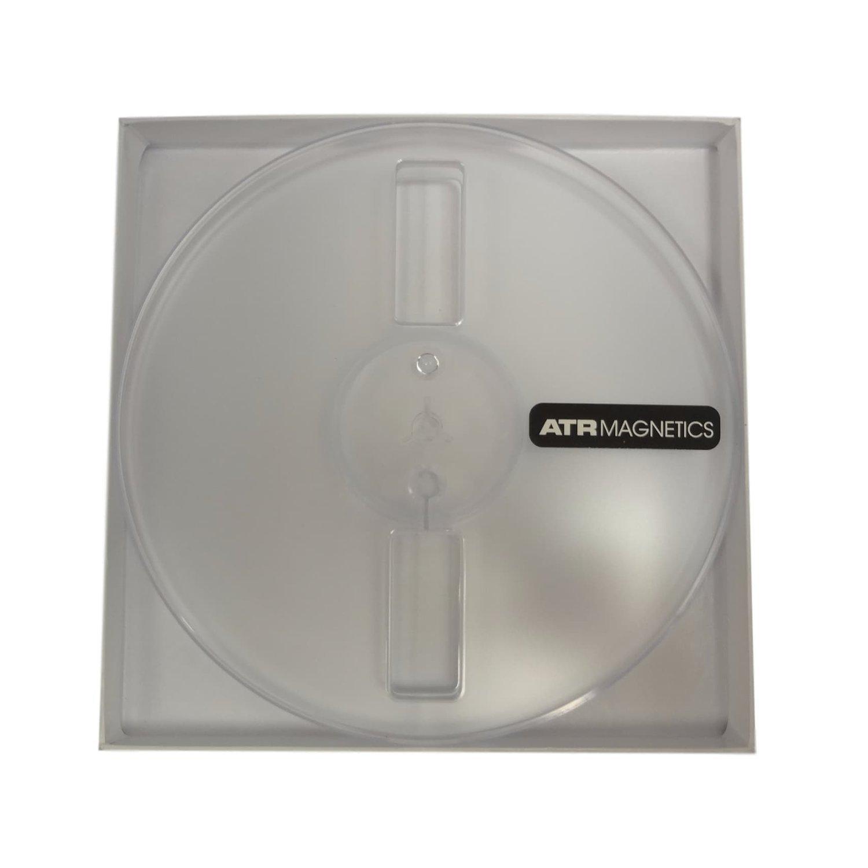 ATR Master Tape 1/4 Empty 7 Slotted Plastic Reel Cardboard Box