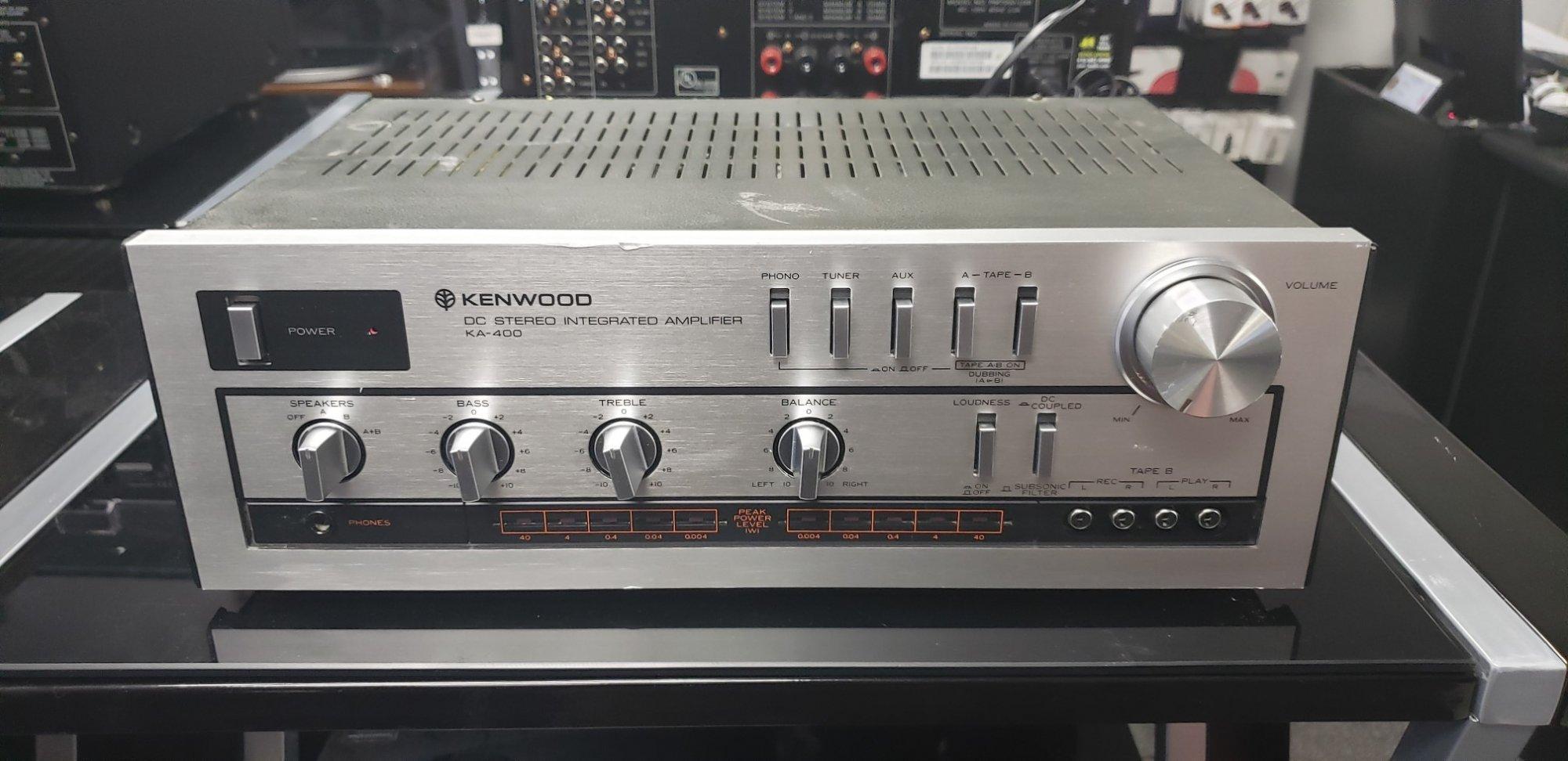 Kenwood KA-400 (45W/CH)