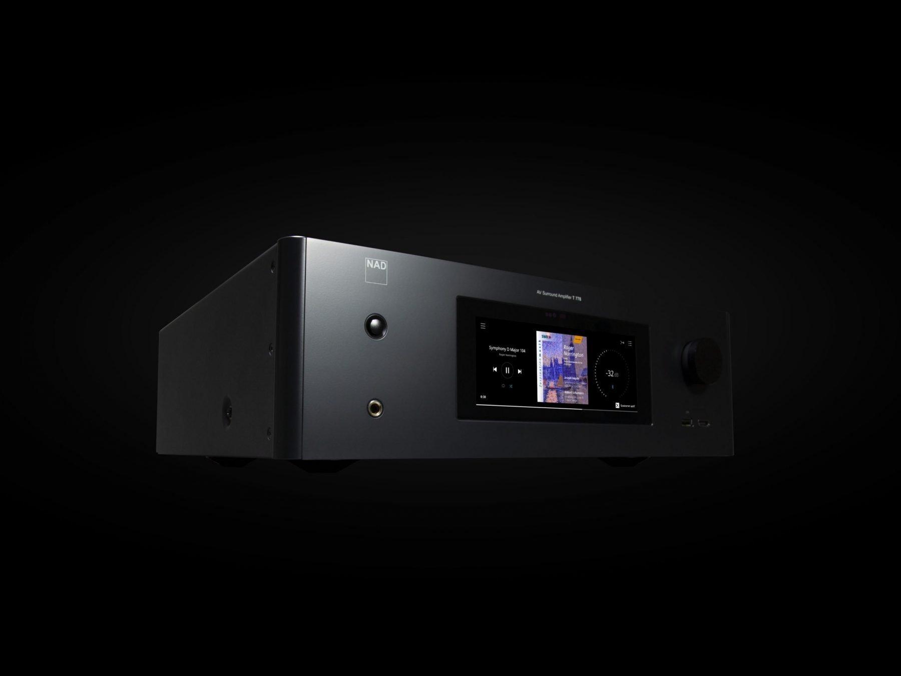 T 778 AV Receiver 9x80W (NAD Full Disclosure Power)