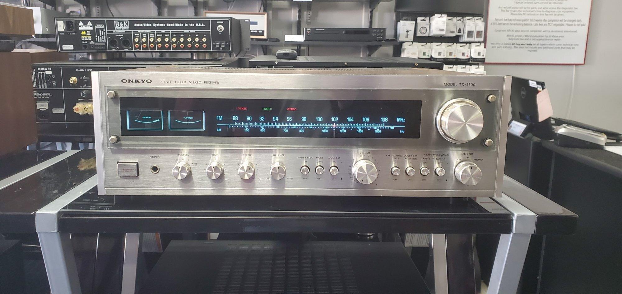 Onkyo Tx-2500 (27W/Ch)