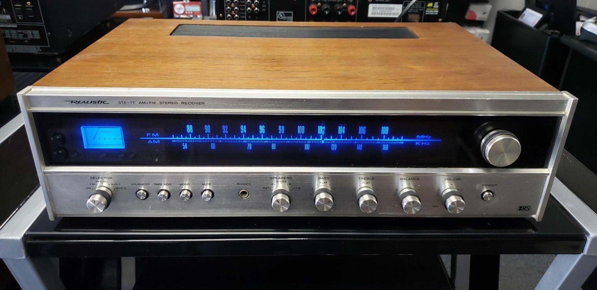 Realistic STA-77 (18W/Ch)