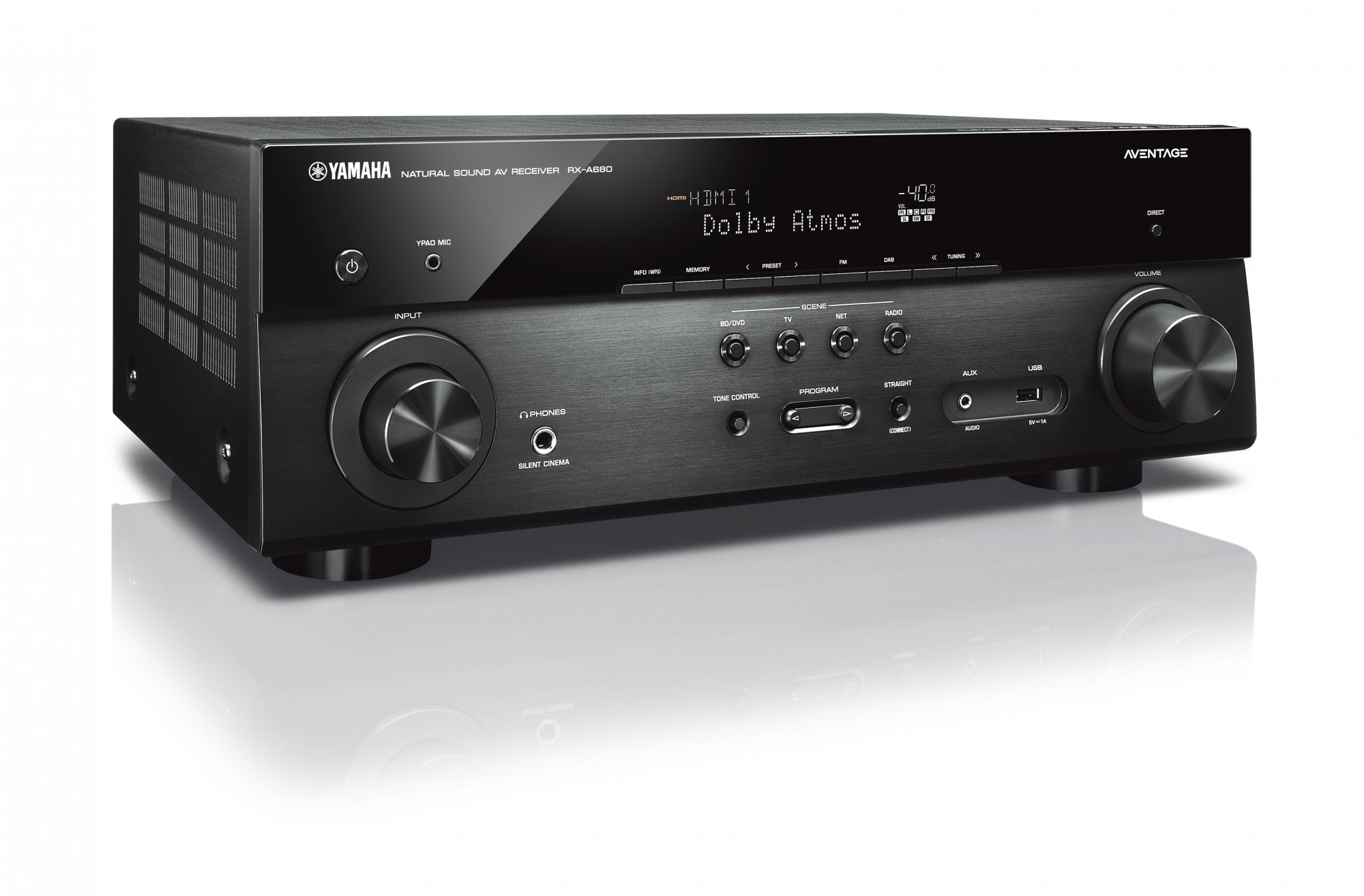 Yamaha Aventage RX-A680 Receiver