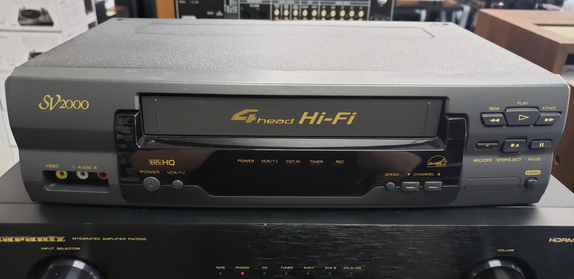 Sansui SV2000 VCR