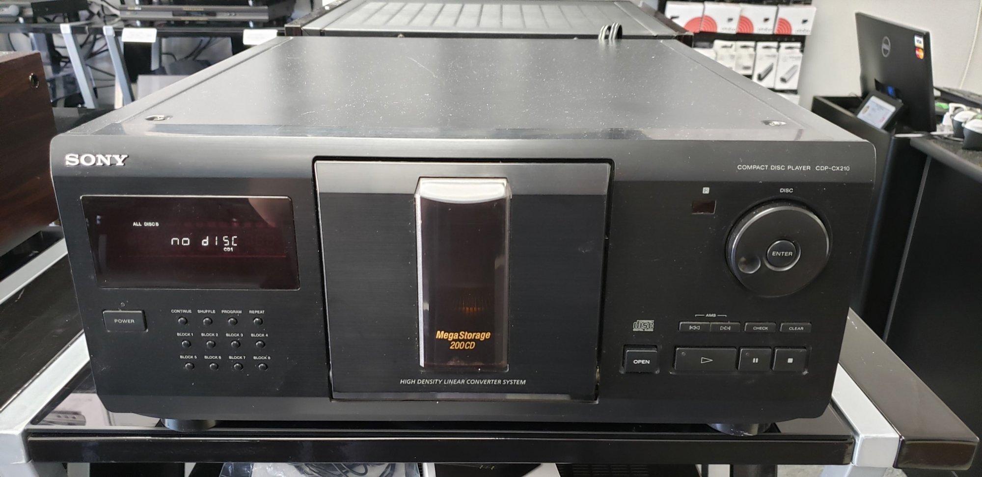 Sony CDP-CX210