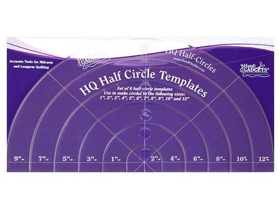 Half Circle Ruler Set