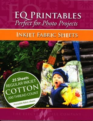 EQ Printables Inkjet Fabric Sheets Perfect for Photo Projects