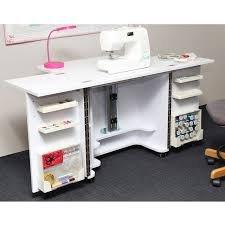 Tailormade Sewing machine cabinet Gemini White