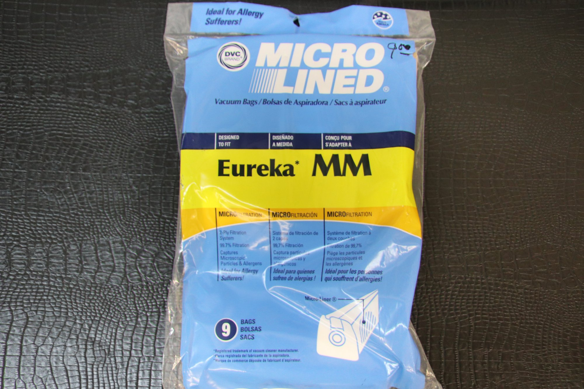 Micro lined Eureka MM Canister 9 pack bags