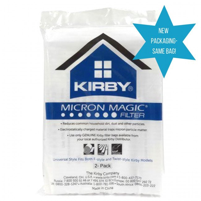 Kirby Micron Magic Filter Universal 2-pack