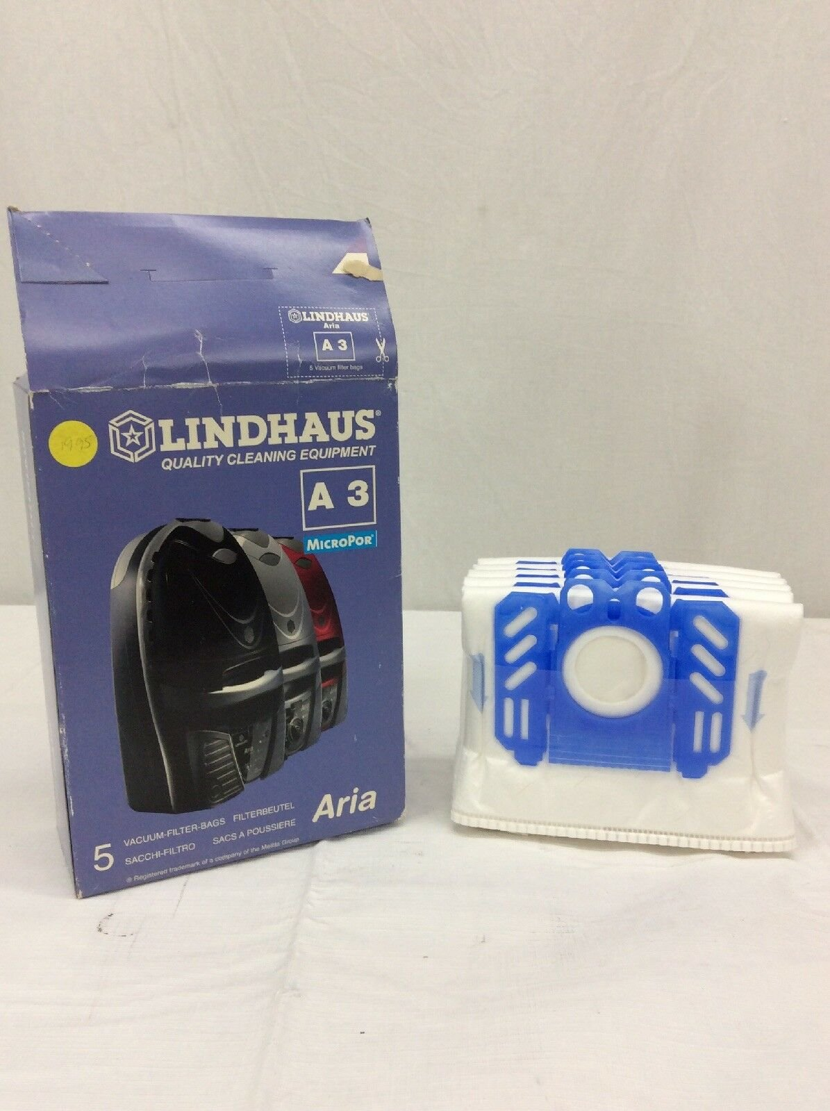 Lindhaus Aria A3 Canister bags