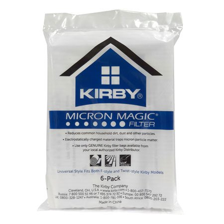 Kirby Miron Magic Filter 6-pack Universal style