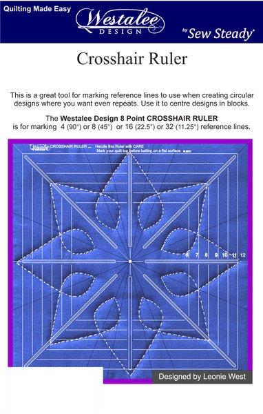Crosshair Ruler by Westalee Design